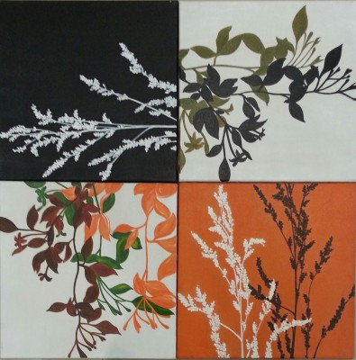 Jhula Mehta Being In Harmony With Nature, Creates Harmony Within Canvas Painting