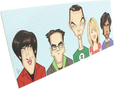 Graphicurry The Big Bang Theory Canvas Painting