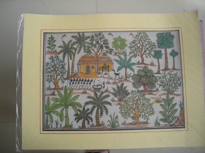 RACHNA DESIGNS Natural Colors Painting