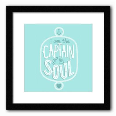 Dreambolic Captain Poster Digital Reprint Painting