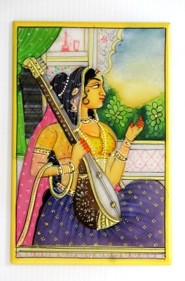 SR Crafts Sr Crafts Ragini Miniature Painting Watercolor Painting