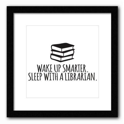 Dreambolic Wake Up Smarter Poster Digital Reprint Painting