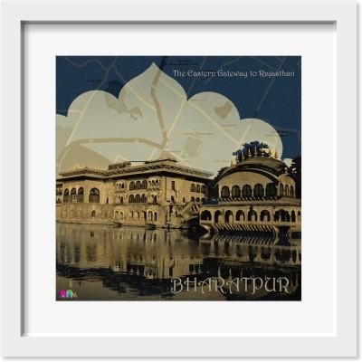 Fatfatiya The Eastern Gateway of Rajasthan Digital Art Canvas Painting