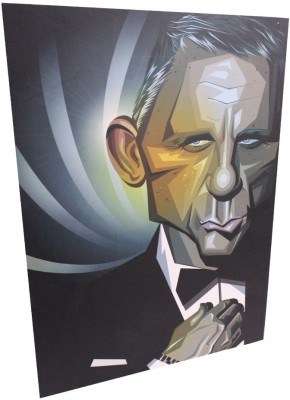 Graphicurry Bond Digital Reprint Painting