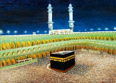 IMFPA Pilgrimage Unframed Reprint Painting Canvas Painting
