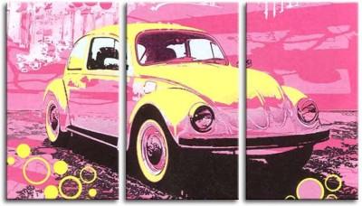 Painting Mantra Pop Car Split Art Set Canvas Painting