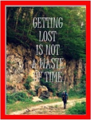 Oobinno Getting Lost Digital Reprint Painting