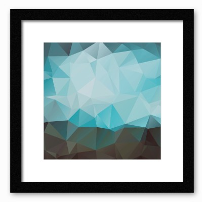 Dreambolic Abstract Shades Of Blue Poster Digital Reprint Painting