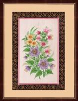 Splendid Indian Art Splendid Indian Mughal Period Realistic Flower