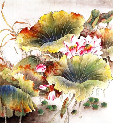 Tao Communications Watercolor Painting