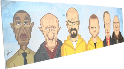 Graphicurry Breaking tribute Canvas Painting