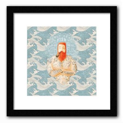 Dreambolic Sailor Poster Digital Reprint Painting