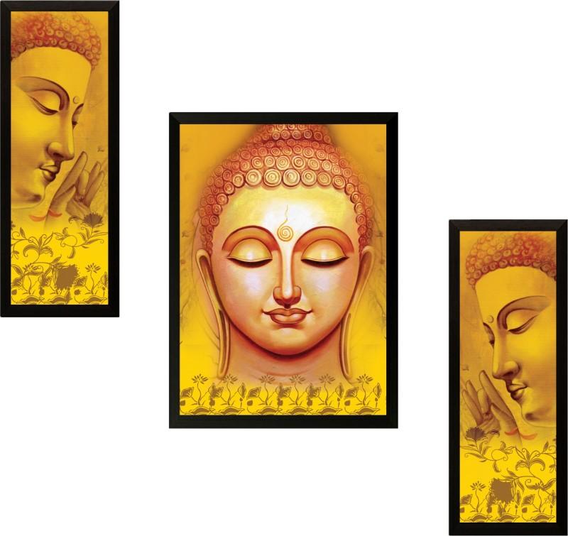 SAF Buddha Ink Painting(13.5 inch x 22 inch)