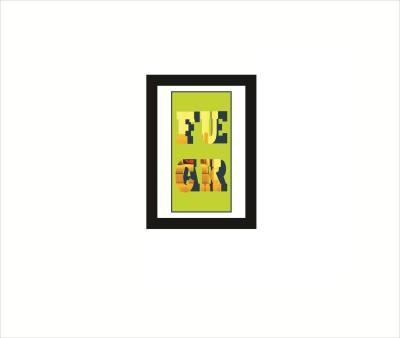 Rkason Gold Mirror/Wallart F0ck Fear Ink Painting