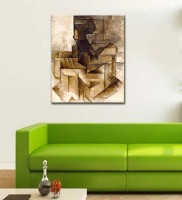 Tallenge Modern Masters Collection - The Rower By Pablo Picasso - Ready To Mount Gallery Wrap Canvas Painting