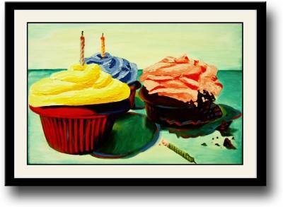 Artifa Cupcakes Canvas Painting
