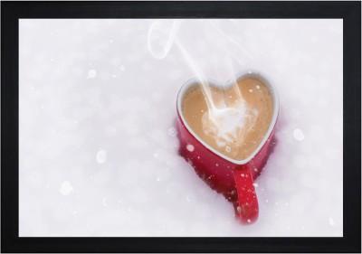 JMLH Handicraft Hnadicraft Love Coffee Showpiece  -  25 cm