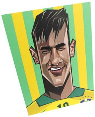 Graphicurry Neymar Digital Reprint Painting