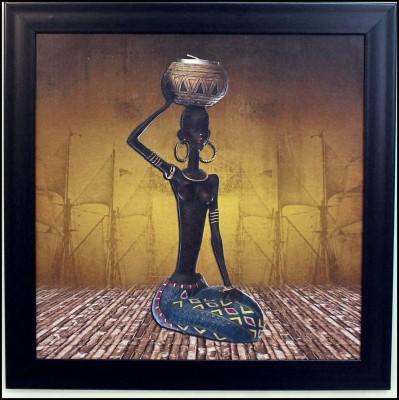 eCraftIndia Tribal Women Showpiece  -  35 cm