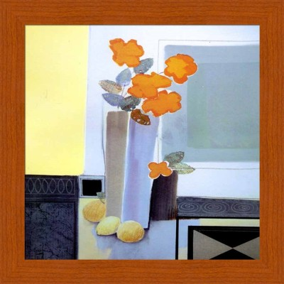 Painting Mantra Flower In The Vase Canvas Painting