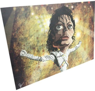 Graphicurry Jackson Digital Reprint Painting