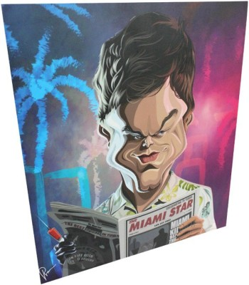 Graphicurry Dexter Digital Reprint Painting