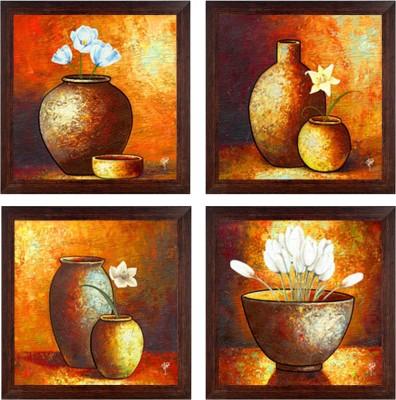 Ray Decor Pots Acrylic Painting