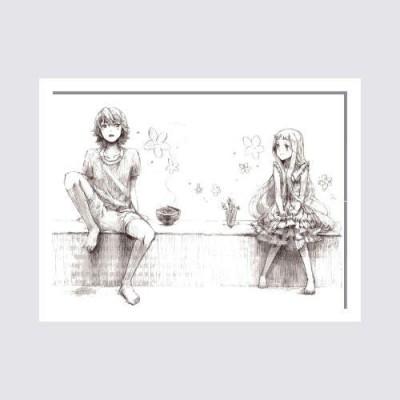 Oobinno Innocence of Love Pencil Painting
