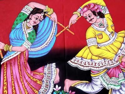 Chaklu Paklu Canvas Painting