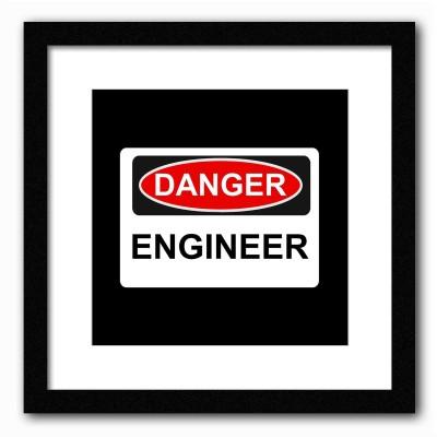 Dreambolic Danger Engineer Poster Digital Reprint Painting