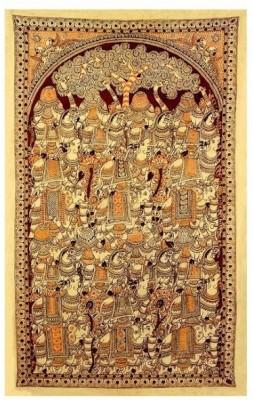 Redbag Animals of Chittoor Canvas Painting