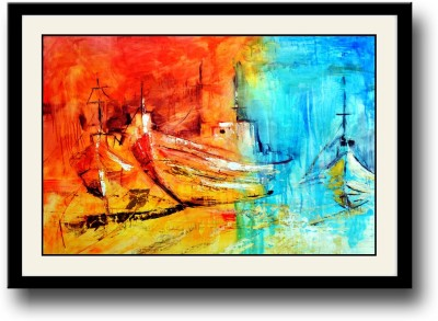 Artifa Ships painting Canvas Painting