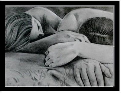 Oobinno Pleasing Love Pencil Painting