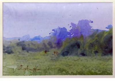 Craffitorium eServices Pvt. Ltd. Wild Venture Watercolor Painting