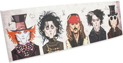 Graphicurry Johnny Depp Tribute Canvas Painting