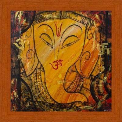 Painting Mantra Ganesha Canvas Painting
