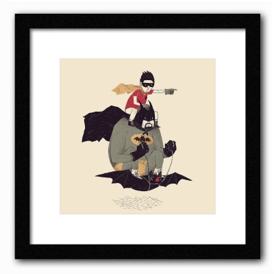 Dreambolic To The Batmobile Poster Digital Reprint Painting