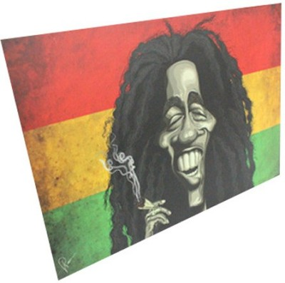 Graphicurry Bob Marley Digital Reprint Painting