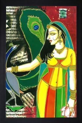SAF Reprint Mughals Natural Colors Painting