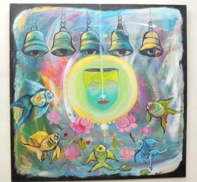 SHRI MANS CREATIONS Acrylic Painting