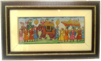 Gaura Art & Crafts Natural Colors Painting