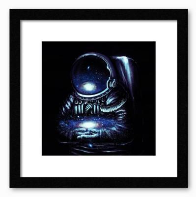 Dreambolic Space Man Poster Digital Reprint Painting