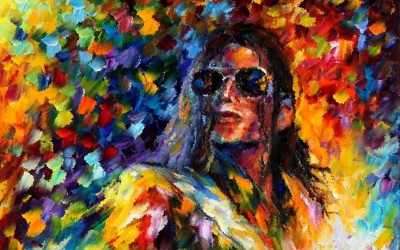 Red2red Michael Jackson Canvas Art Canvas Painting