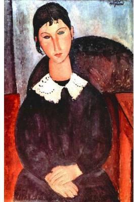 Snapgalaxy Art Panel - Modigliani - Elvira Canvas Painting