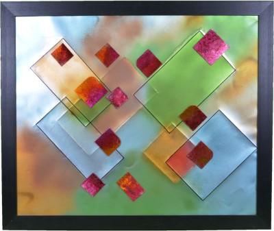 DesignMint Geometric Oil Painting