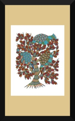 Cubit Homes Gond Art Painting
