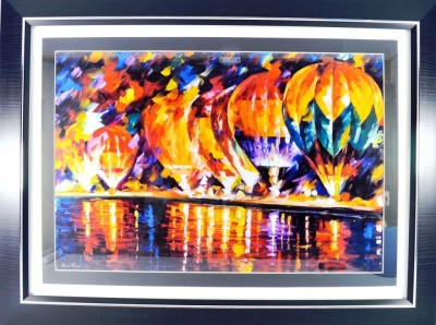 Global Seven Abstract Art - Balloons Canvas Painting