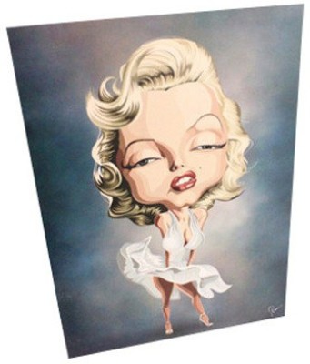 Graphicurry Monroe Digital Reprint Painting