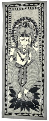 Craftuno Craftuno Traditional Madhubani Painting Depicting
