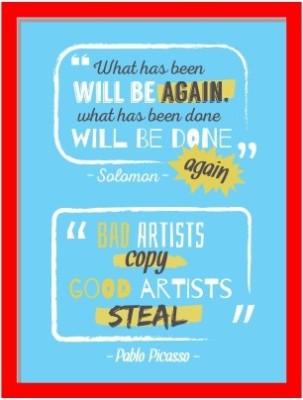 Oobinno Fact & Steal Digital Reprint Painting